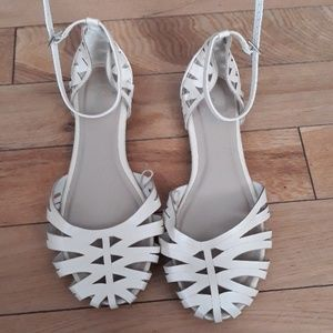 Nicole Ankle Strap Flats